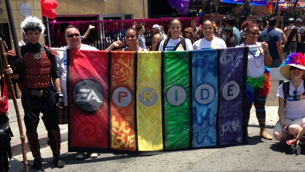EA at LGBT LA Pride