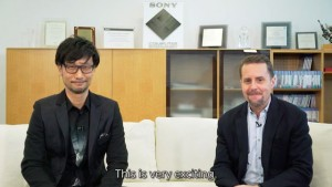 Kojima and House in the PSN video