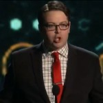 Greg Miller gives speech at The Game Awards