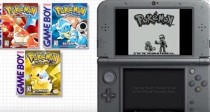 Pokemon Red, Blue and Yellow Versions are now available on the 3DS eShop.