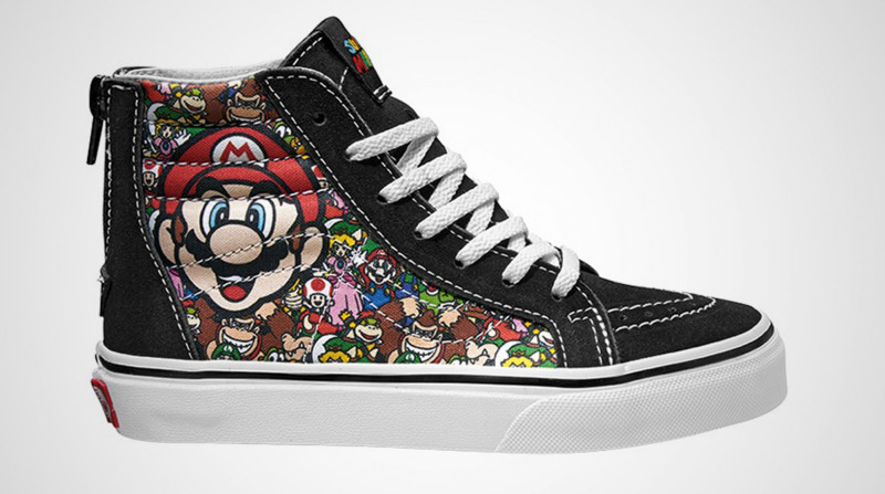 mario and friends vans shoes