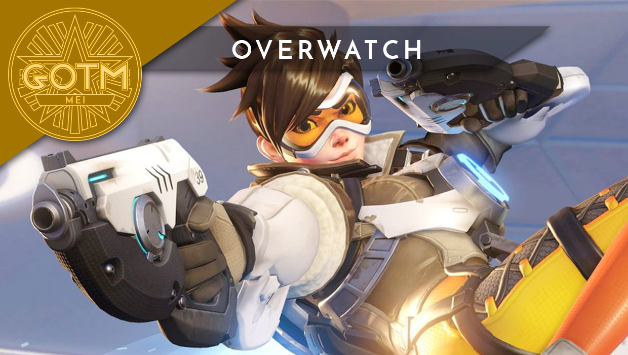 Overwatch is game of the month for May