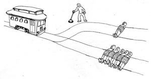 trolley-lever