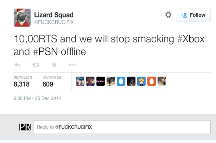 new-lizard-squad-twitter-dictates-xbox-status | Top Shelf Gaming