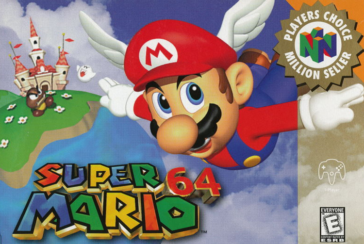 Mario 64 Cover launch