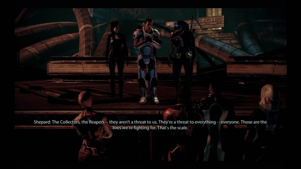 Mass Effect 2 Speech Seqence