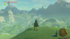 Breath of the Wild Exploring