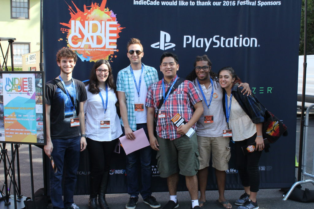 Interns at IndieCade 2016