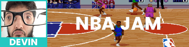 Devin's pick is NBA Jam