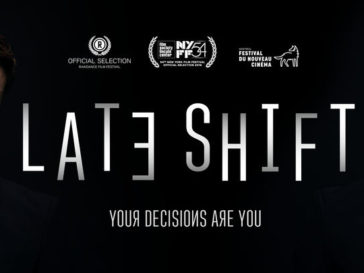 Theatrical poster for Late Shift