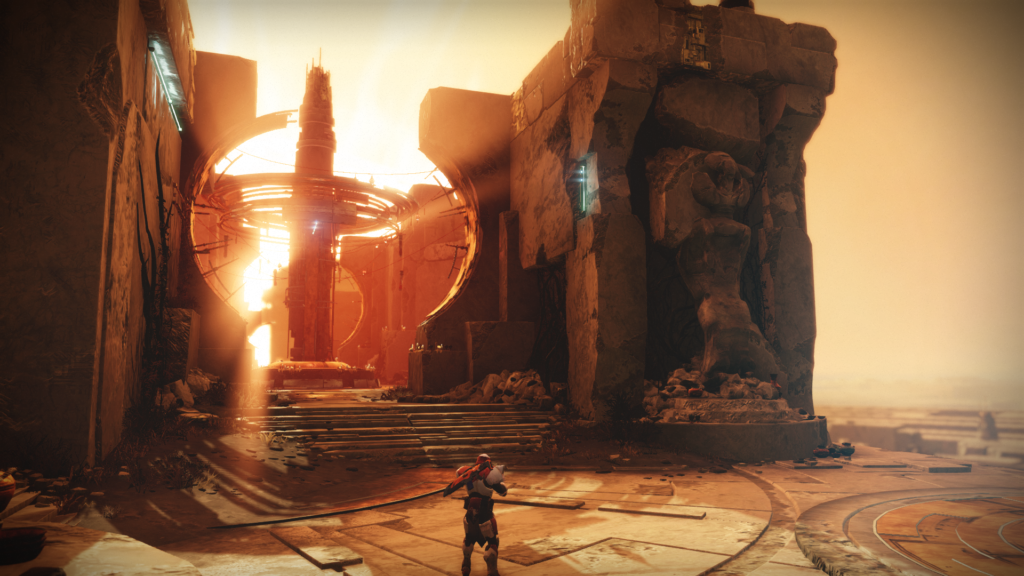 Curse of Osiris Mercury vistas
