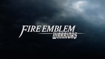 The title of the game from the CGI opening.