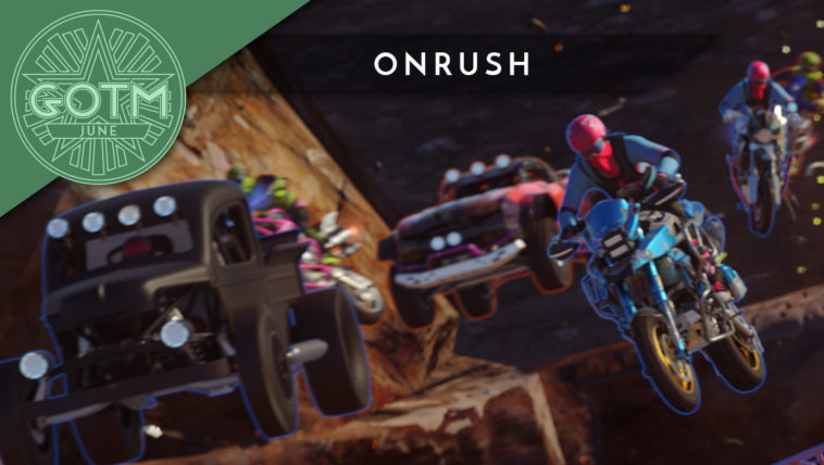 Onrush is Top Shelf Gaming's Game of the Month for June 2018