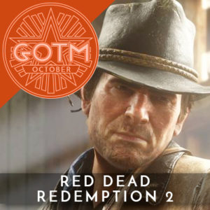 Red Dead Redemption 2 is October 2018's Game of the Month.